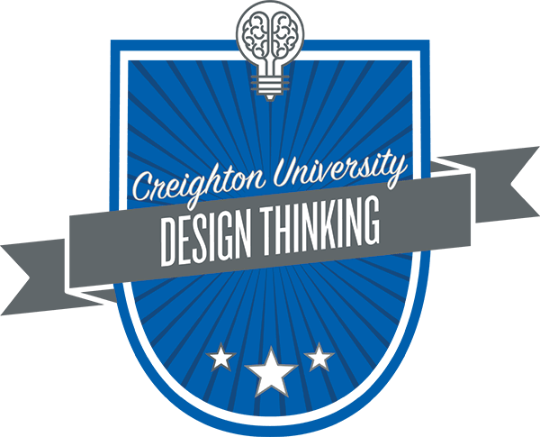 "Design thinking ""badge\"""