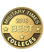 Military Times Best Colleges 2018 coin