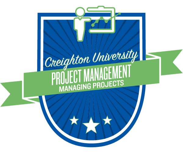 Managing projects badge