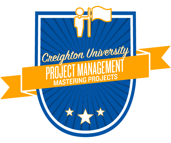 Mastering project management badge